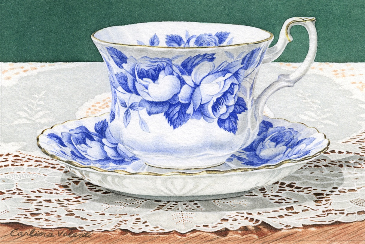 Blue Teacup II