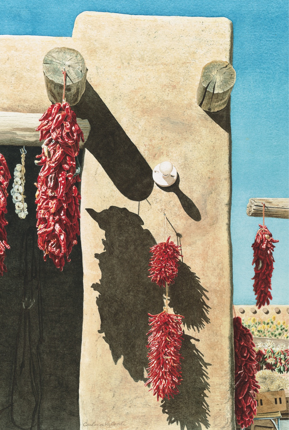 Drying Chiles