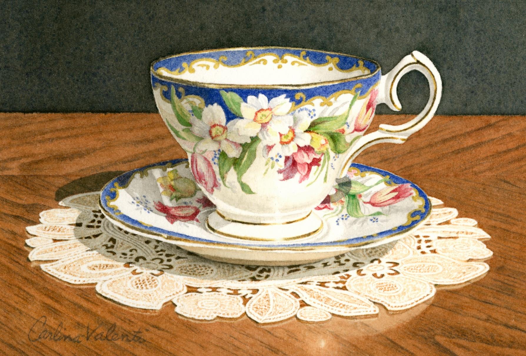 Floral Teacup 1